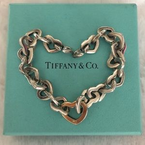 Jewelry - Tiffany and Co Heart Bracelet